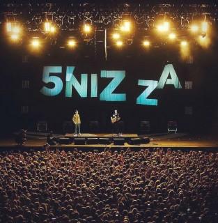 2016.07.15 - Летний концерт группы 5'nizza: Зеленый Театр и красочный сувенирный билет