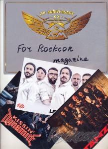 Rockcor N6 (2016) - интервью в номере