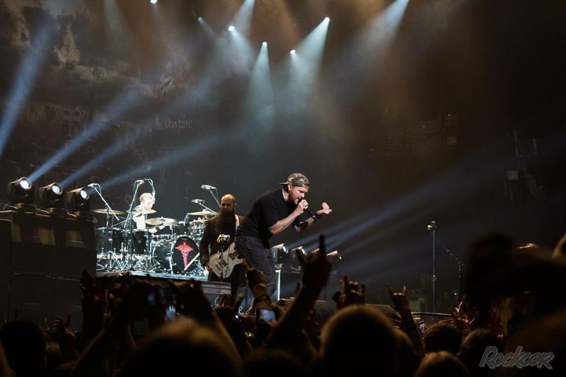 Three Days Grace - фоторепортаж с концерта