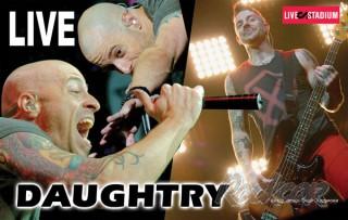 12 октября Москву с концертом посетила американская группа Daughtry