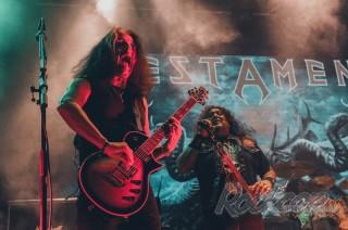 Фоторепортаж с концерта группы Testament