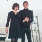 Фоторепортаж с пресс-конференции актрисы Миллы Йовович и режиссера Пола У.С. Андерсона