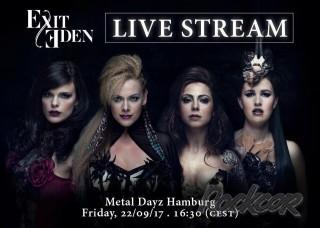 EXIT EDEN - live stream