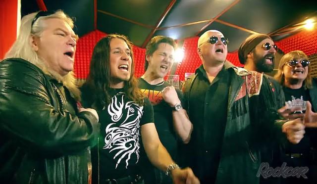 Группа «Демарш» и её друзья рок-музыканты закончили работу над проектом  «Пока бьётся в сердцах рок-н-ролл»