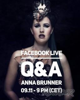 Q&A сессия с вокалисткой группы  EXIT EDEN Анной Брюннер