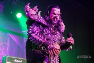 Фотографии с концерта Lordi в Москве