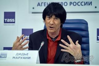 Пресс-конференция «Юбилейный тур группы SpAce: Дидье Маруани о концертах в России»