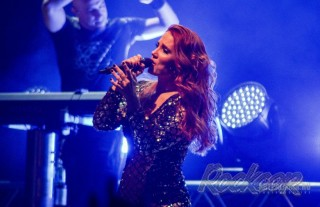 Фоторепортаж с московского концерта группы Epica
